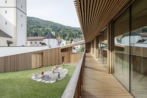 Feld72 Architekten und der Kindergarten in Unterolang