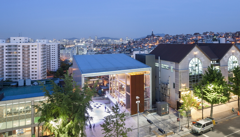 Moongyu Choi + Ga.A Architects: H Music Library a Seoul