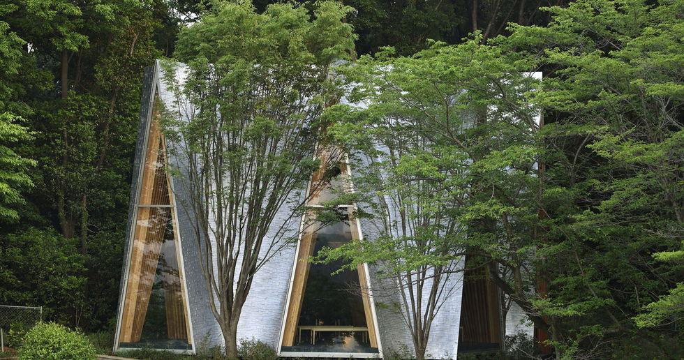 Nakamura & NAP: Sayama Forest Chapel e la struttura gassho