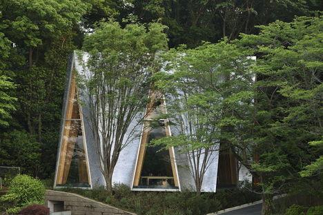 Nakamura & NAP: Sayama Forest Chapel und die gassho-Struktur