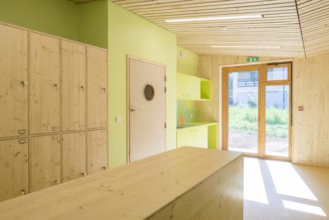 R2k Architectes: Relais d'Assistance Maternelle in Tencin, Frankreich