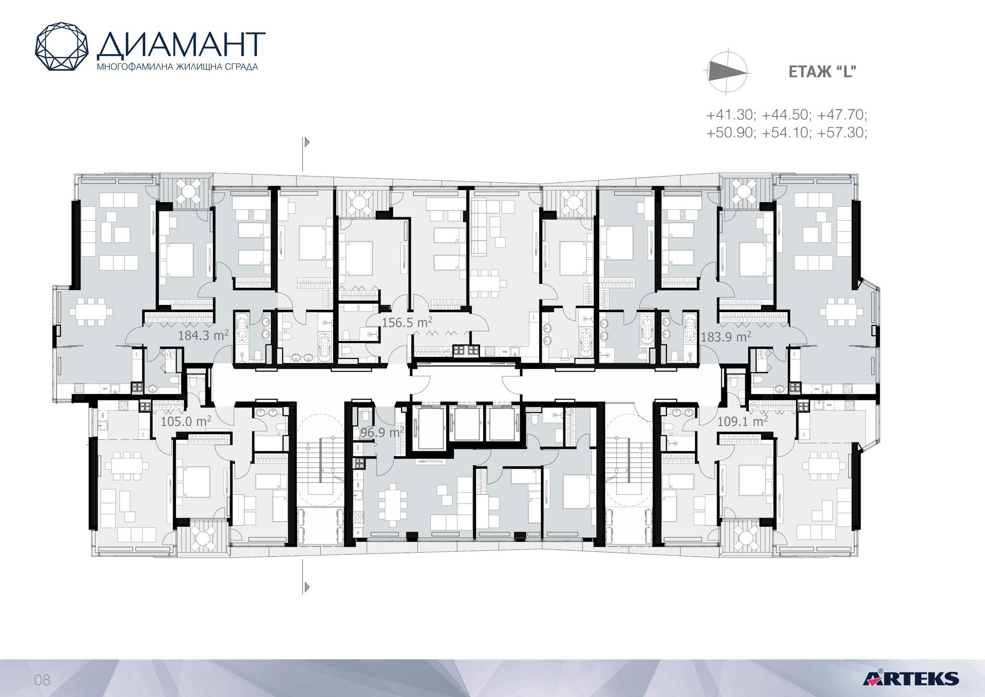Arteks: Diamond, ein Luxushochhaus in Sofia