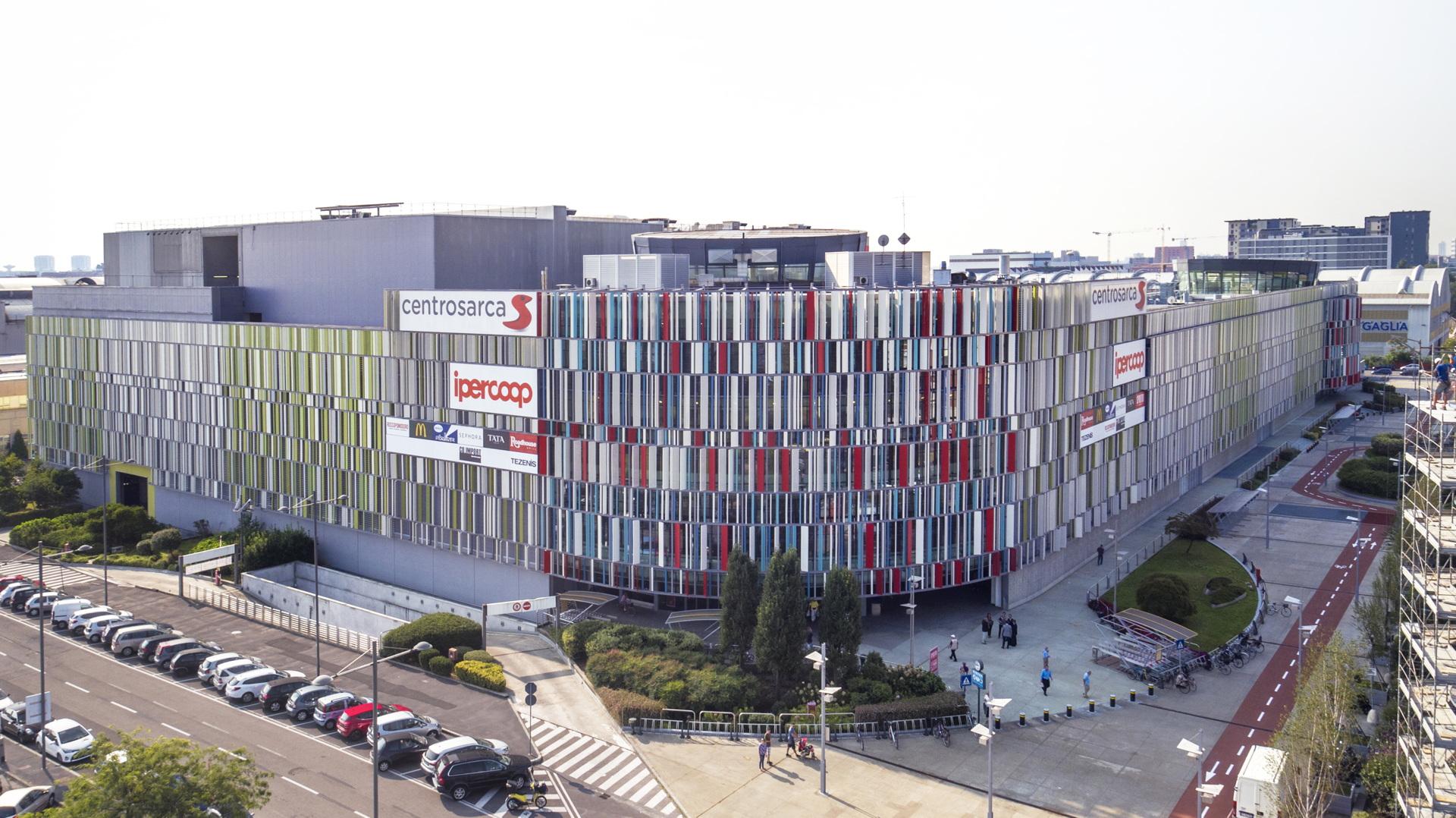Lombardini22: Restyling des Einkaufszentrums Sarca in Mailand