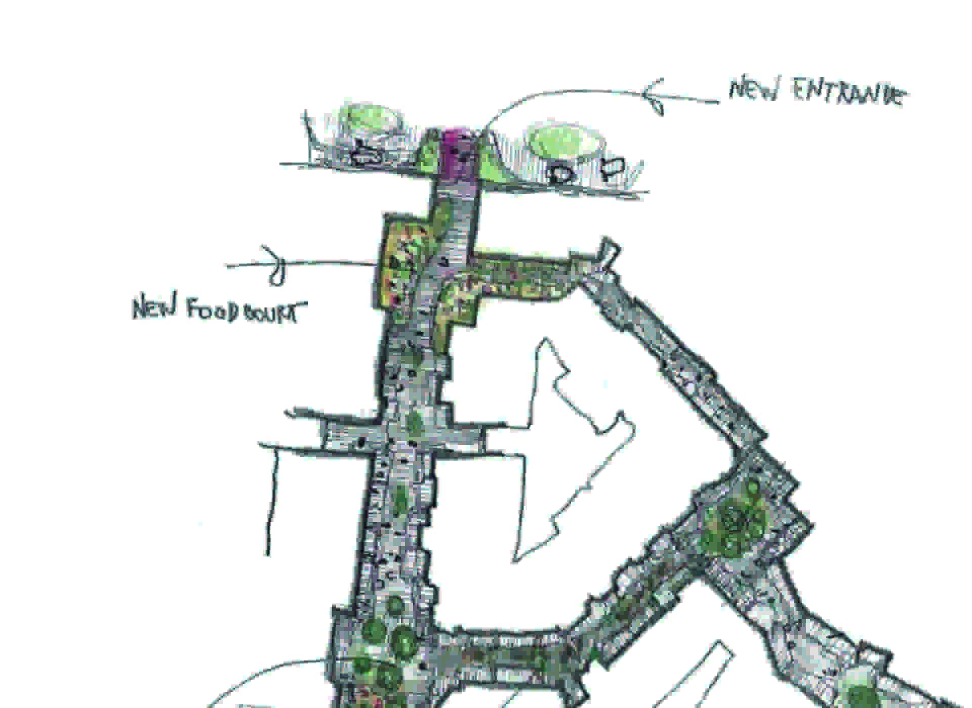 Lombardini22: Neuer Eingang und Food Court beim Valmontone Outlet