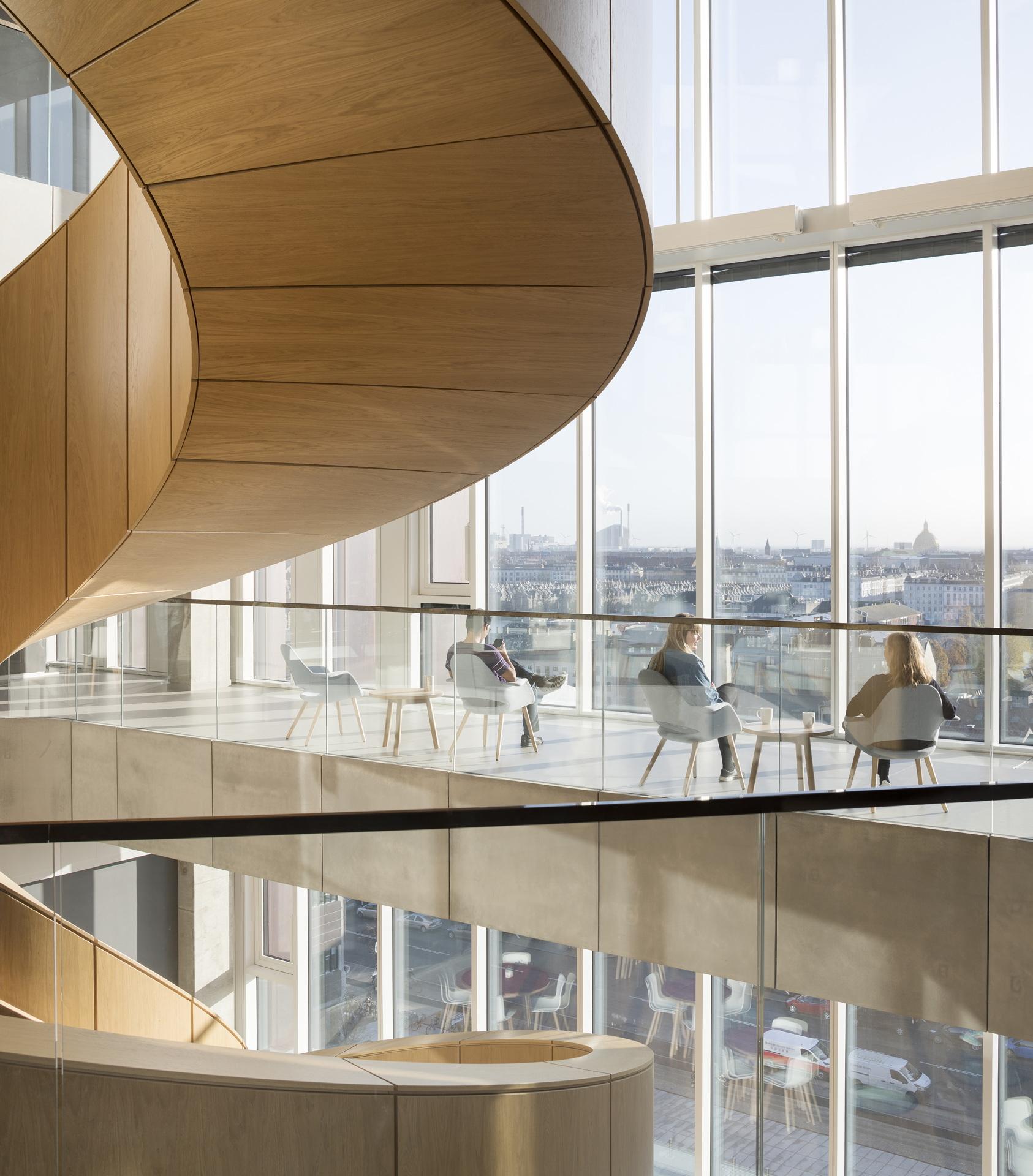 C.F. Møller: Maersk Tower, Panum Building in Kopenhagen