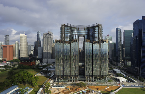 Ingenhoven architects: Marina One in Singapur