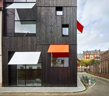 Dominique Coulon: Büro- und Wohngebäude in Straßburg