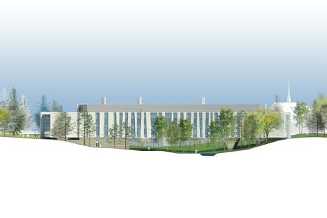 Ennead Architects: Bridge for Laboratory Sciences in Poughkeepsie