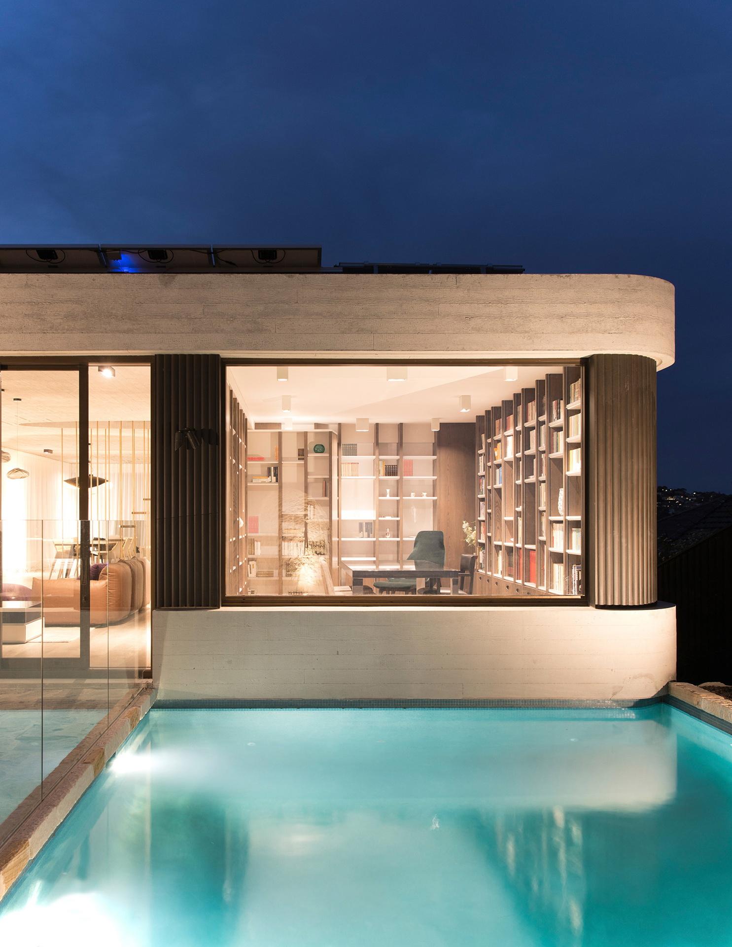 Luigi Rosselli: Das Bücherhaus auf den Klippen von Sydney