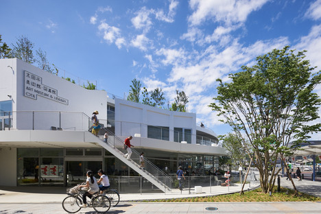 Akihisa Hirata: Art Museum and Library Ota, Japan