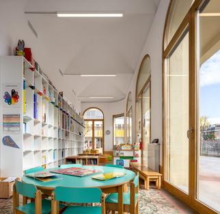 b720 Fermín Vázquez: Lycée Français Maternelle in Barcelona