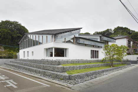 Takao Shiotsuka Atelier: Stadtbücherei in Taketa, Japan