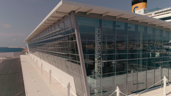 Vicini Architects: Terminal Amerigo Vespucci in Civitavecchia<br />