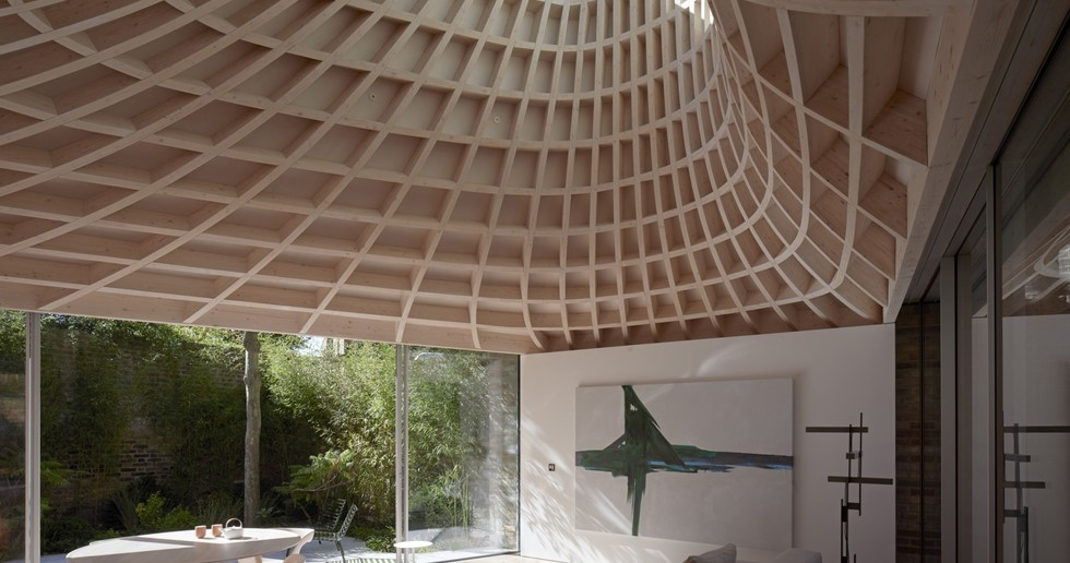 Gianni Botsford Architects: Haus in einem Garten in London