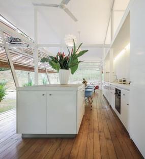 Casa Sin Huella von Schütte und A-01, skalierbarer Wohnraum für die Wildnis
