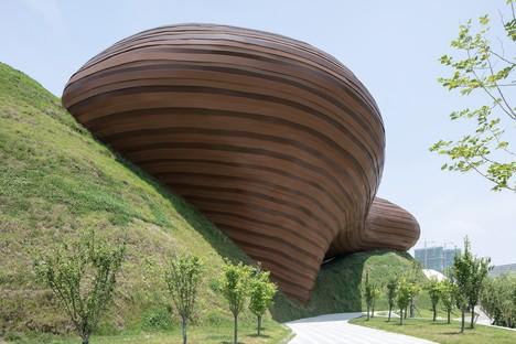 Floating Melodies: Liyang Museum von CROX