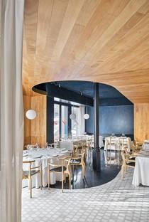 Mesura für die erste Restaurierung des historischen Restaurants Cheriff in Barceloneta nach 60 Jahren