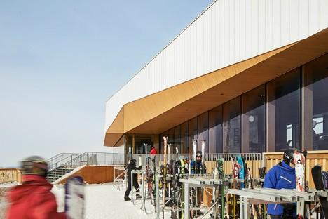Lemay gestaltet ein 360°-Panorama für das Bromont Summit Chale