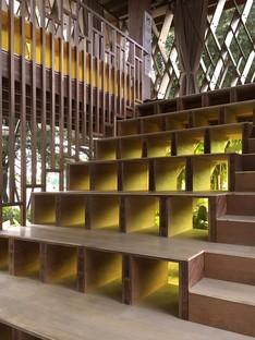 SHAU: Mikrobibliothek Warak Kayu in Semarang, Indonesien