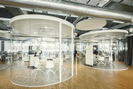 AMDLCIRCLE und Michele De Lucchi: Büros Z-LIFE, Bresso, Mailand