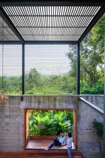 TA-CHA Design: Binary Wood House, Pak Chong, Thailand
