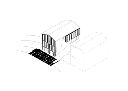 Ellevuelle architetti: Casa Gielle in Modigliana, Italien