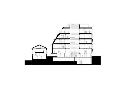 Das neue Rathaus von Bodø, entworfen vom Atelier Lorentzen Langkilde