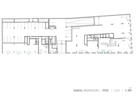 Qarta Architektura: Five, ehemaliges Straßenbahndepot in Smíchov, Prag