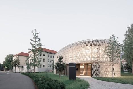 Dietrich Untertrifaller: Neue Stadtbibliothek von Dornbirn