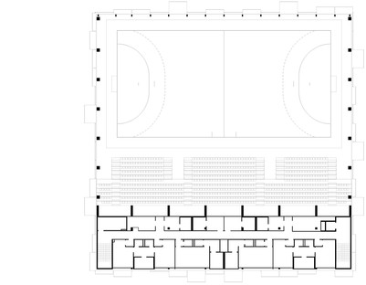 Hatvan Multifunctional Sports and Events Hall von Napur Architect