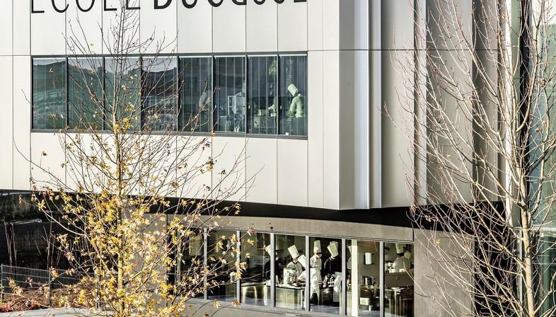 Der Pariser Sitz der École Ducasse trägt die Signatur von Arte Charpentier