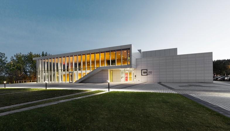 Quai 5160, das neue Kulturzentrum in Verdun, entworfen von den Kanadiern FABG