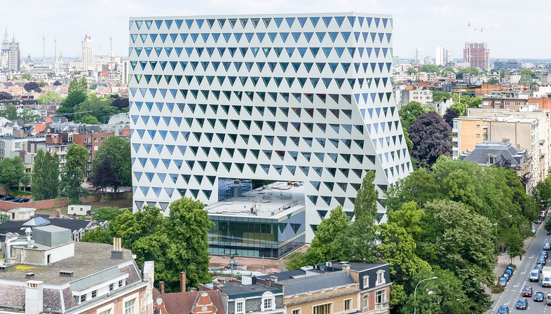 Xaveer De Geyter: Verwaltungsbüros der Provinz, Antwerpen