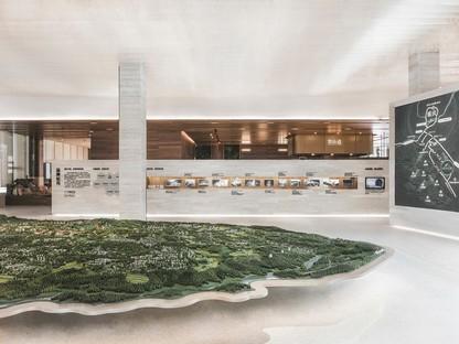 Das Kunstmuseum von Yunshan wurde von CROX und Yuan Gou Design