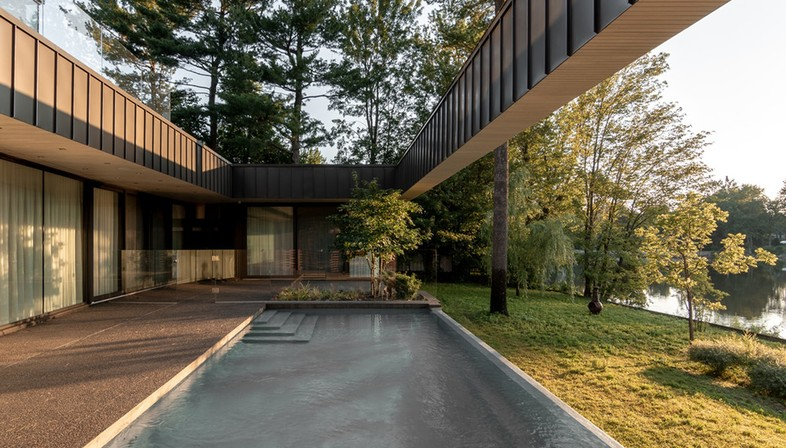 Residence de l'Isle von Chevalier Morales: ein perfektes Quadrat