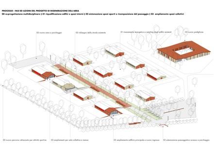 Arbau: Sanierung des Centro Soranzo, Forte Rossarol, Venedig