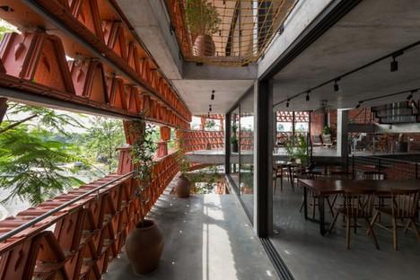 H&P Architects: Ngói space in Hanoi, Vietnam