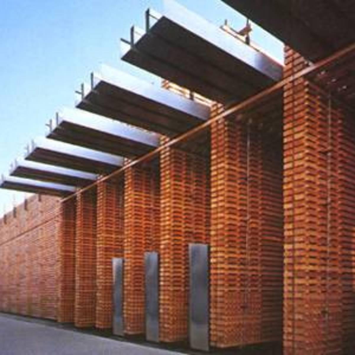 P. Zumthor Schweizer Pavillon an der Expo 2000 von Hannover