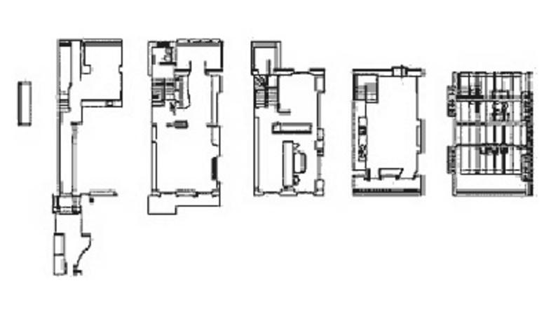 Sauerbruch Hutton Architects,<br> drei Häuser in London