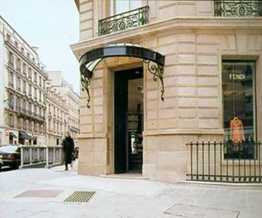 FENDI SHOP, Lazzarini & Pickering Architects,<br> Paris, Frankreich, 2001