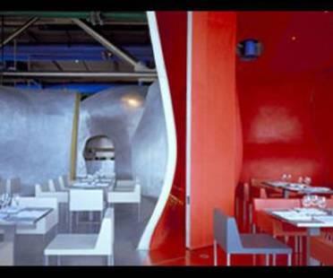 Dominique Jakob &amp; Brendan MacFarlane<br> Restaurant Georges, Centre Georges Pompidou