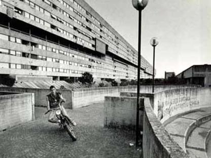Die Wohnviertel Zen in Palermo und Corviale in Rom werden vielleicht abgerissen