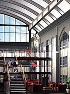 Antoine Predock: Doudna Fine Arts Center, Illinois University, im Bau