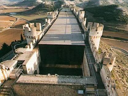 Schloß Peñafiel, Spanien