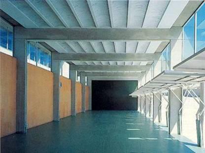 Ferrater & Guibernau: Berufsschule in Lloret de Mar, Spanien, 1993-1996