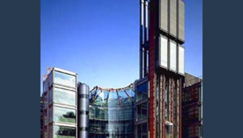 Richard Rogers: Sitz der Fernsehstation Channel 4 in London, 1991-1994