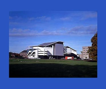 Theater Chass&eacute; in Breda, Niederlande,<br> 1992-1995. Herman Hertzberger