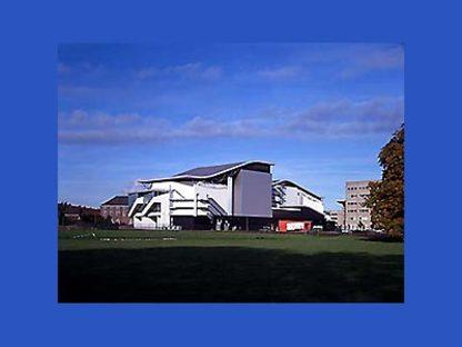Theater Chassé in Breda, Niederlande,<br> 1992-1995. Herman Hertzberger