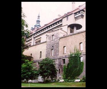 Borek Sípek<br>Die neue Kunstgalerie in der Prager Burg, 1996