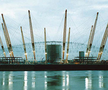 Rogers-Hadid-Imagination<br> Millennium Dome, Halbinsel von Greenwich, London, 1996-1999